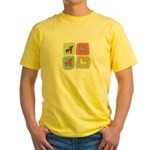 Chinese Crested Yellow T-Shirt