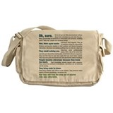 Cute Employment Messenger Bag