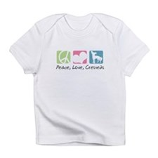Peace, Love, Cresteds Infant T-Shirt