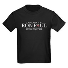 California for Ron Paul 2012 T