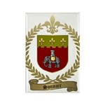 SONNIER Family Crest Rectangle Magnet (100 pack)