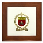 SONNIER Family Crest Framed Tile