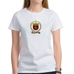 SONNIER Family Crest Women's T-Shirt
