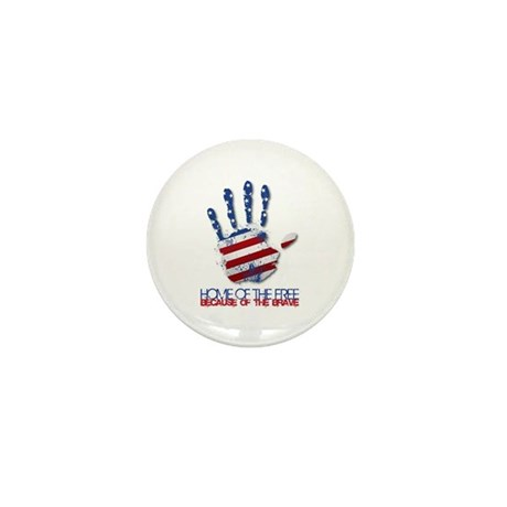 Home of the Free Mini Button (10 pack)