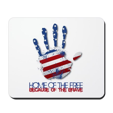 Home of the Free Mousepad