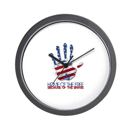 Home of the Free Wall Clock