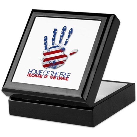 Home of the Free Keepsake Box