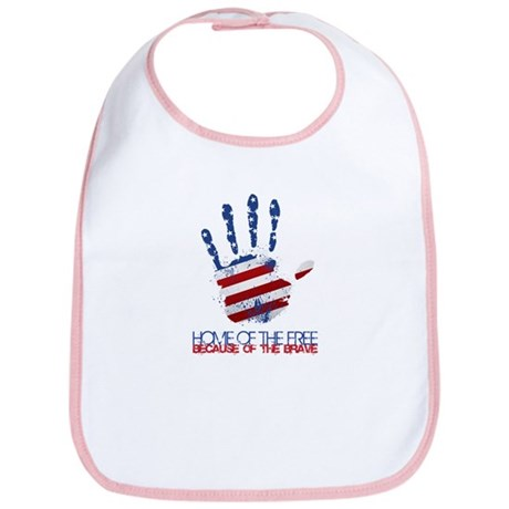 Home of the Free Bib