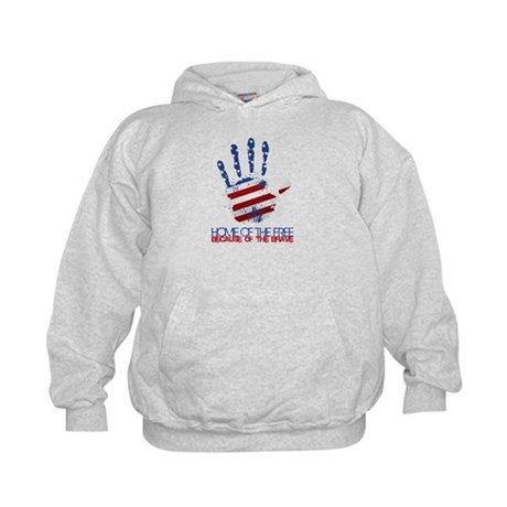 Home of the Free Kids Hoodie