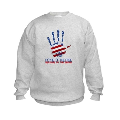 Home of the Free Kids Sweatshirt