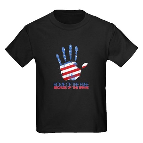 Home of the Free Kids Dark T-Shirt