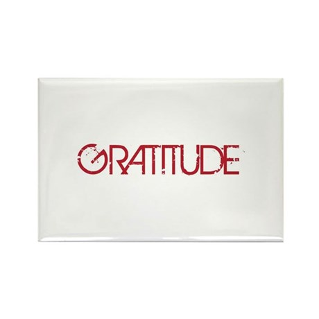 Gratitude Rectangle Magnet (10 pack)