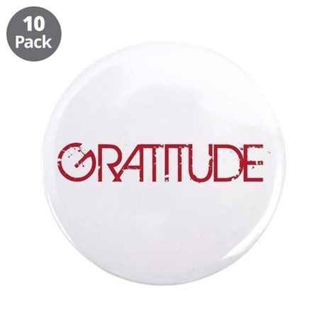 "Gratitude 3.5"" Button (10 pack)"