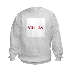 Gratitude Kids Sweatshirt