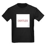 Gratitude Kids Dark T-Shirt