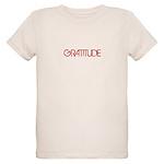 Gratitude Organic Kids T-Shirt