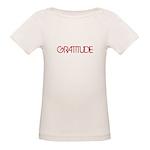 Gratitude Organic Baby T-Shirt