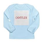 Gratitude Long Sleeve Infant T-Shirt
