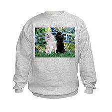 Bridge & Poodle Pair Sweatshirt