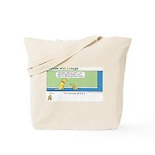 Bow Mitzvah Tote Bag