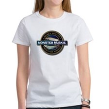 Women's Monster Musky Fishing T-Shirt