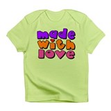 Made With Love - Girls Design Infant T-Shirt