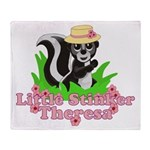 Little Stinker Theresa Throw Blanket