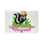 Little Stinker Theresa Rectangle Magnet (100 pack)