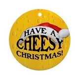 Cheese Round Ornaments