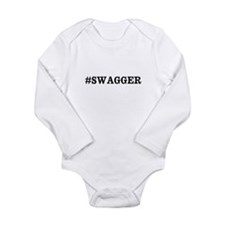 #Swagger Long Sleeve Infant Bodysuit