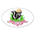 Little Stinker Vicki Sticker (Oval 10 pk)