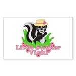 Little Stinker Vicki Sticker (Rectangle 10 pk)