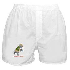 Schnauzer Detective Boxer Shorts