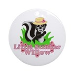 Little Stinker Willow Ornament (Round)