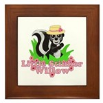 Little Stinker Willow Framed Tile