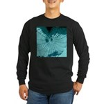 Spider Webs Long Sleeve Dark T-Shirt