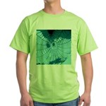 Spider Webs Green T-Shirt