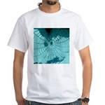 Spider Webs White T-Shirt
