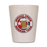 Official Cuban Drinking Team Shot Glass