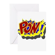 POW! Comic Book Style Greeting Cards (Pk of 10)