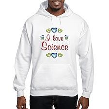 I Love Science Jumper Hoody