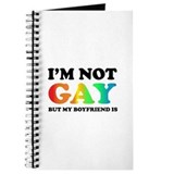 I'm not gay but my boyfriend is Journal