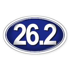26.2 BLUE Marathon Decal