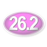 26.2 PINK Marathon Decal