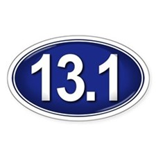 13.1 BLUE Marathon Decal