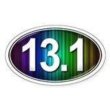 13.1 RAINBOW Marathon Decal
