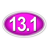 13.1 PINK Marathon Decal