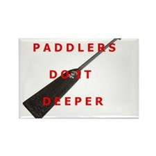 Paddlers-Do-It-Deeper Rectangle Magnet