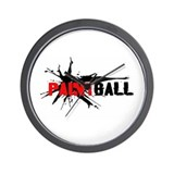 Paintball Wall Clock