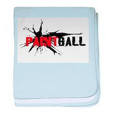 Paintball baby blanket